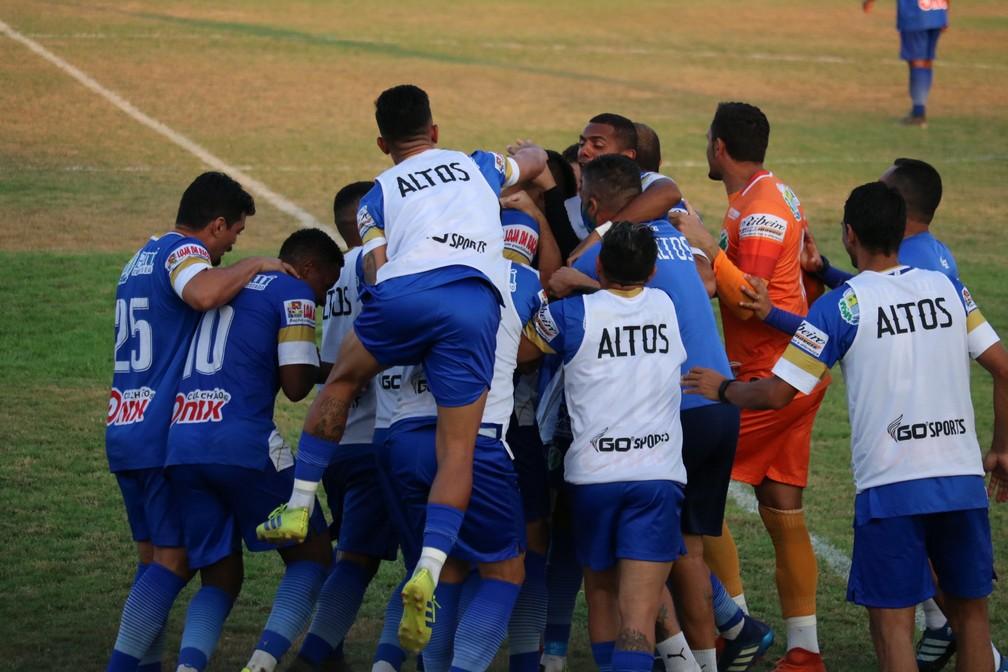 Agressivo e estratégico, Altos mostra seu melhor futebol na Série D no 3 a 1 sobre o River-PI