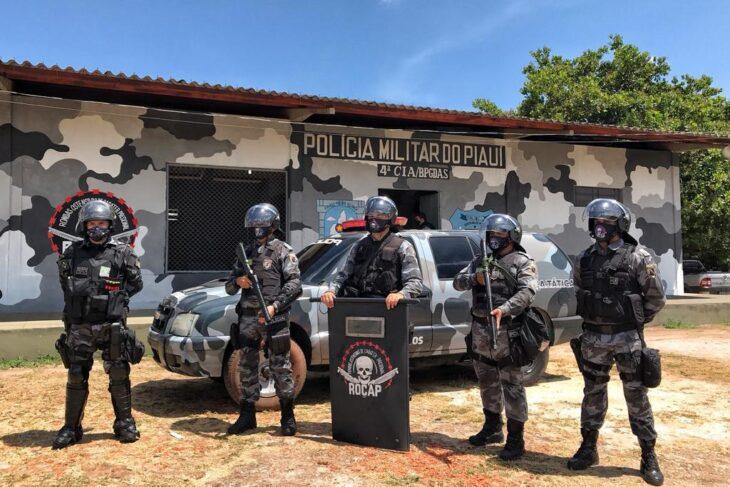Sejus reforça segurança no complexo penal de Altos