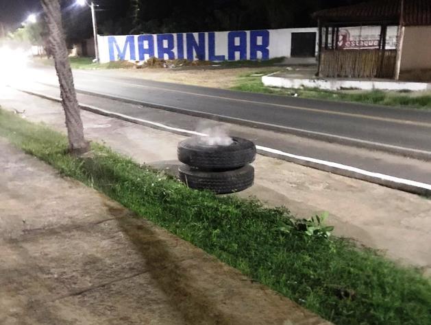 Mãe e filha atingidas por pneu de caminhão na margem do Açude de Campo Maior