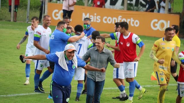 Altos domina jogo em casa, vence o Globo FC, e garante vantagem no duelo de ida da pré-Copa do Nordeste 2021