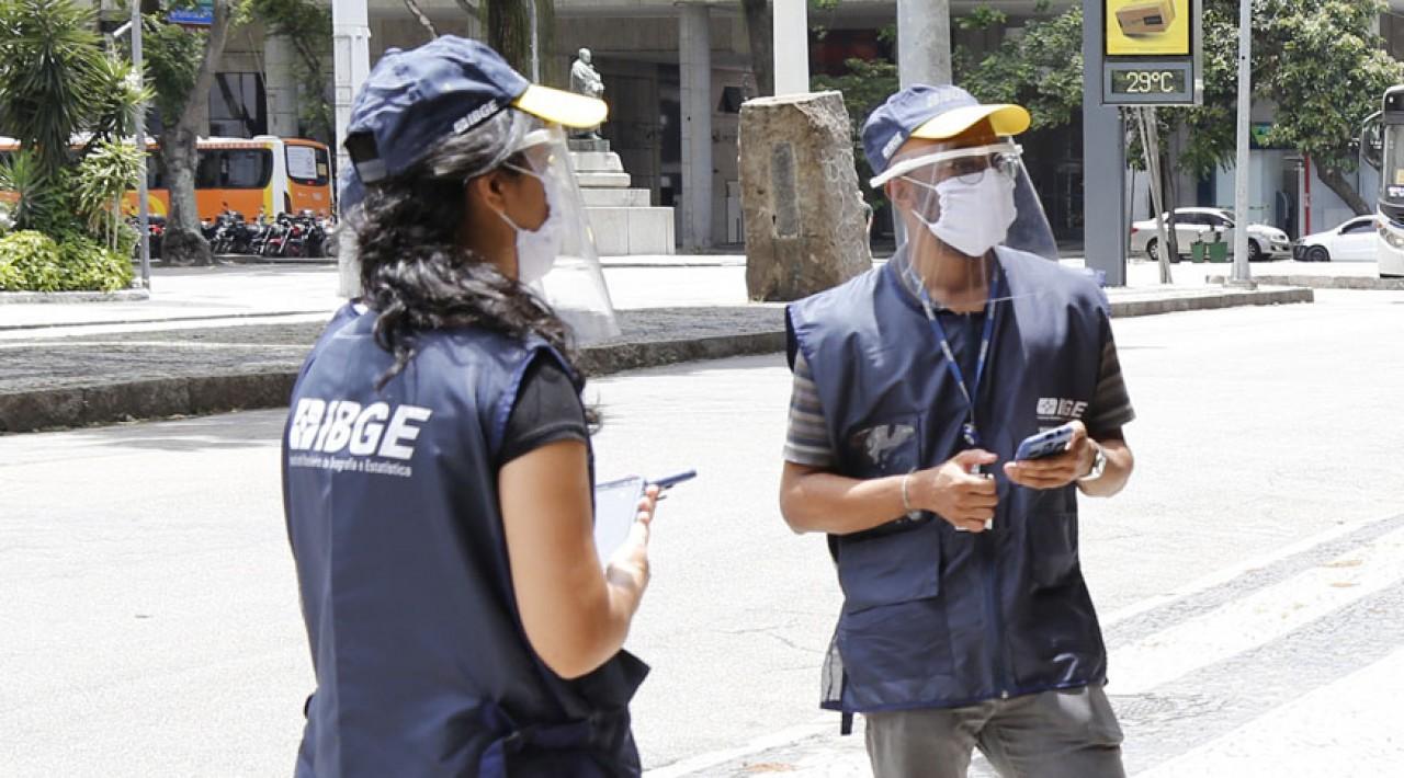 Inscrições no seletivo para agente censitário do IBGE encerram na próxima segunda (15)