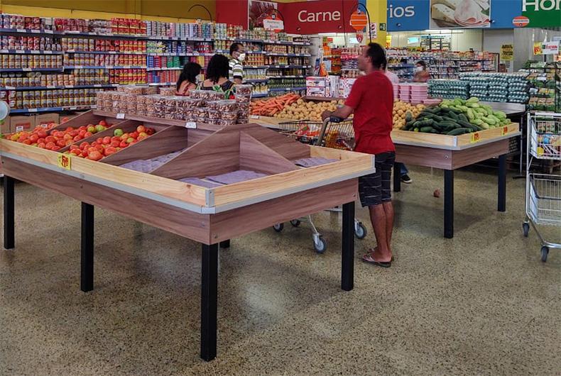 Governo do Estado limita funcionamento de supermercados e mercados até às 20h