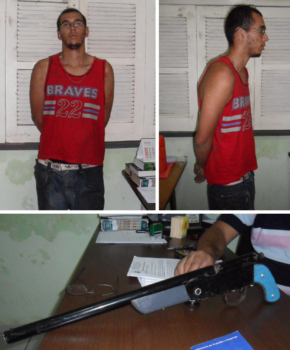 Polícia prende jovem que roubou moto no início da manhã dessa sexta-feira (27)