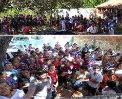 Festa das mães no Bairro Maravilha reúne centenas de pessoas