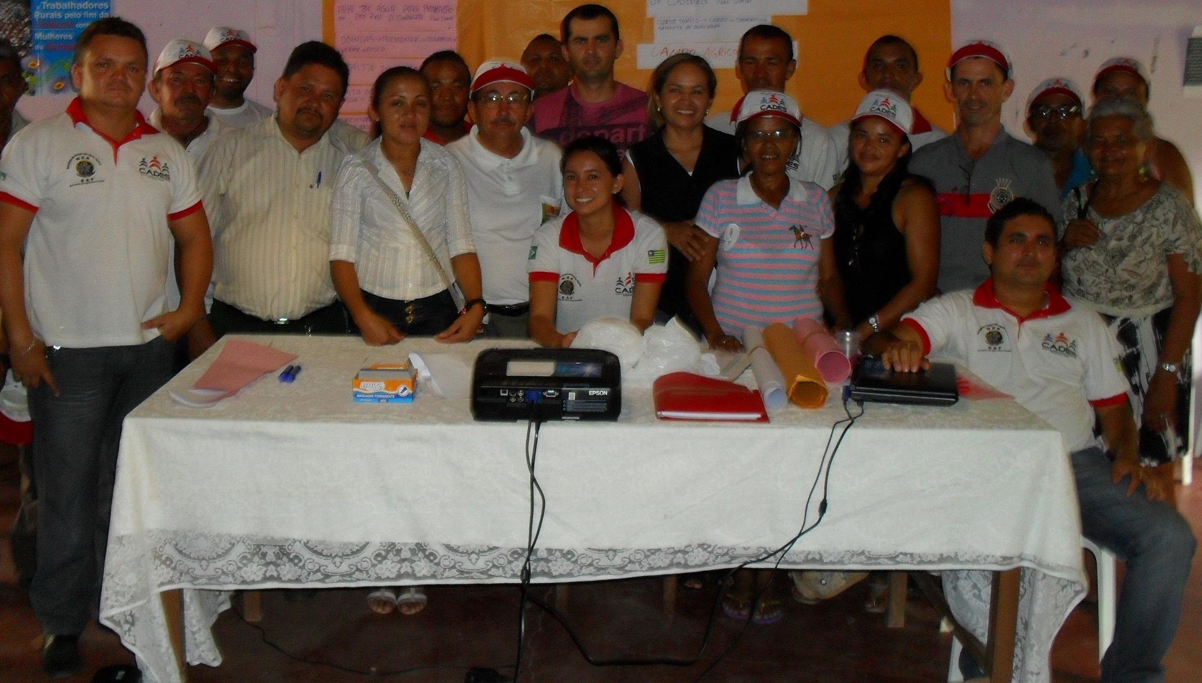 STTR-Altos capacita agricultores em parceria com o Ministério do Desenvolvilento Agrário