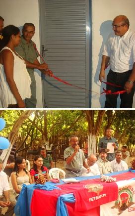 FETRAF faz entregas de 32 casas do PNHR para trabalhadores da Agricultura Familiar