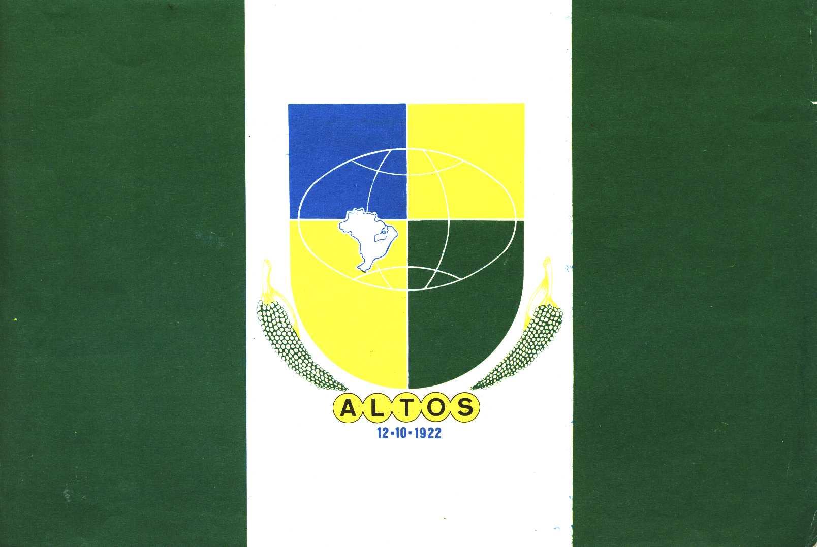 Confira a programação das atividades comemorativas ao 89º ano de emancipação política de Altos