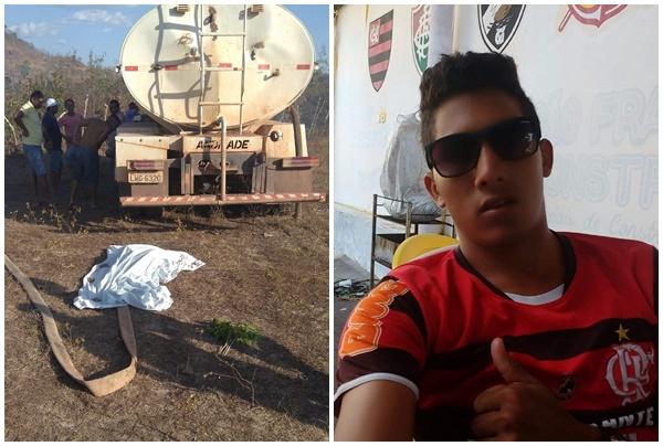 Beneditinos: caminhão esmaga a cabeça de jovem que ajudava a apagar incêndio