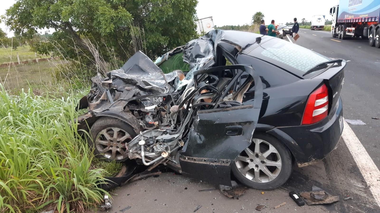 Pastor e familiares estão entre as vítimas do acidente na BR-343