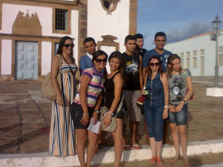 Alunos do Curso de Pedagogia da UESPI de Altos visitam Oeiras