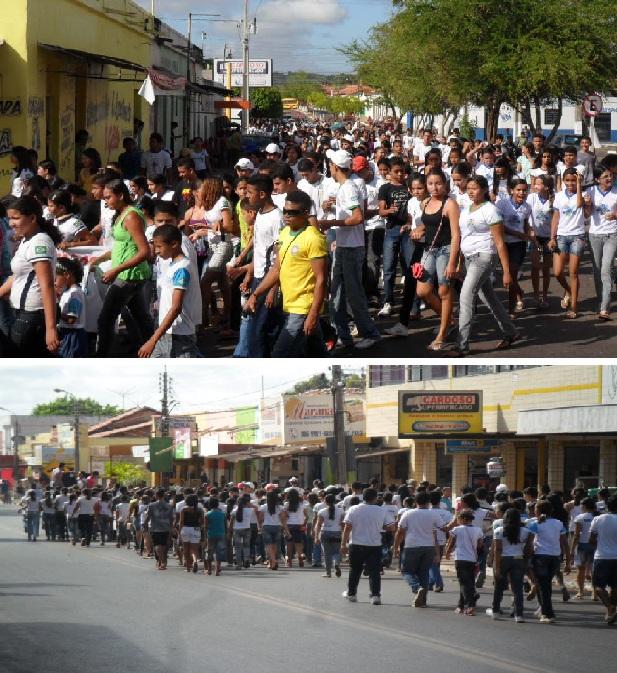 UMESA realiza caminhada no Dia do Estudante